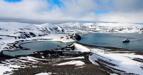 Take a trip to Deception Island