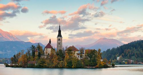 The Lakeside Town of Bled