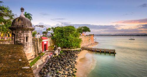 San Juan Historic Fort - Puerto Rico