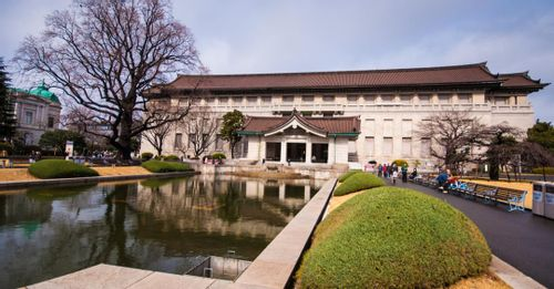 Learn about Japan's cultural heritage in the Tokyo National Museum