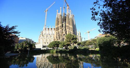 Marvel at the Sagrada Familia in Barcelona