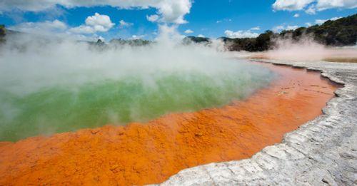 Visit the Waiotapu Thermal Wonderland