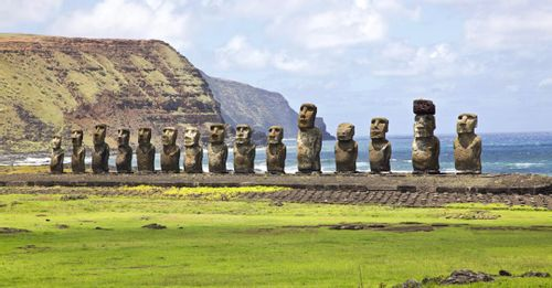 Learn about the history of the Moai statues on Easter Island