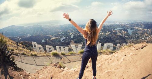 Hike up to the Hollywood Sign