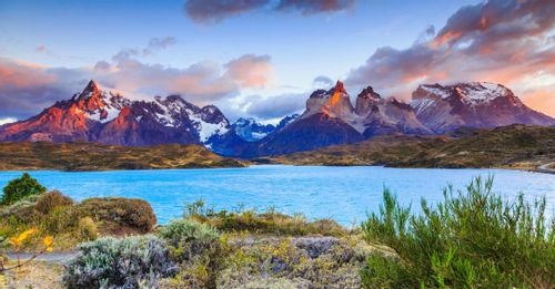 Visit Torres del Paine National Park to see the picturesque Patagonia landscape