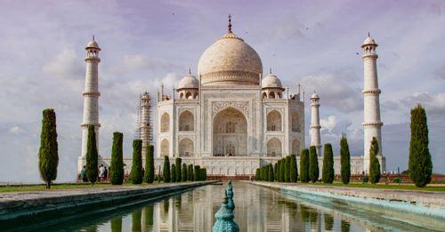 Visit the iconic Taj Mahal