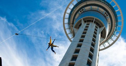 Bungee Jump from Sky Tower