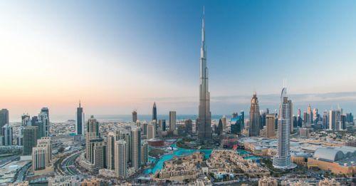 Get breathtaking views from the Burj Khalifa
