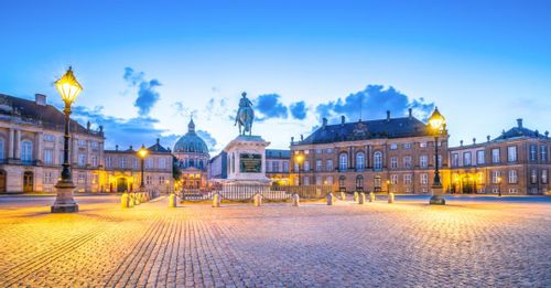 Check out Amalienborg