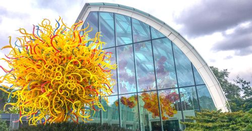Stroll through the Chihuly Garden and Glass