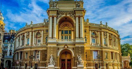 Spend a day exploring Odessa.