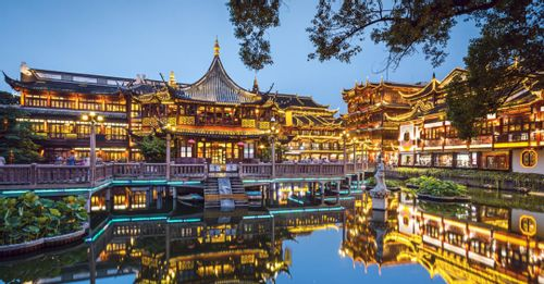 Stroll through Yu Garden