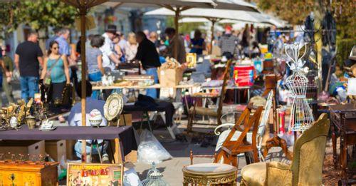 Shop at the Long Beach Antique Market