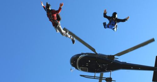 Helicopter Skydiving