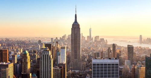 Visit the observation deck at the Empire State Building