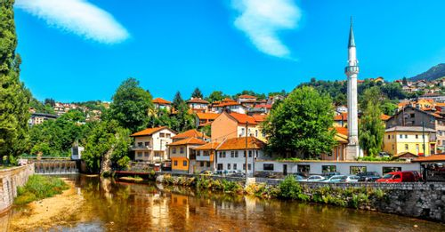 Stroll through the historical streets of the Sarajevo Old Town