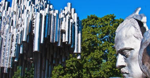 Marvel at the Sibelius Monument