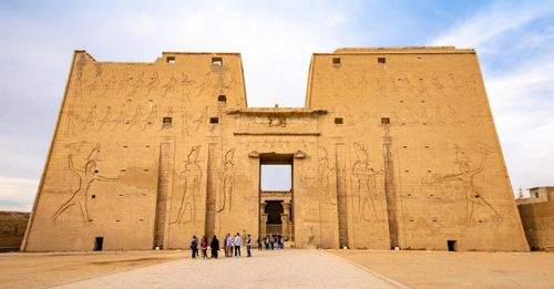 Explore The Temple of Horus at Edfu