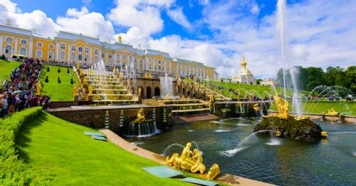 Explore Peterhof Palace