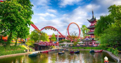 Have a blast at Tivoli Gardens