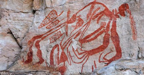 View the unique rock art left behind by ancient Aboriginal civilizations in the Kakadu National Park