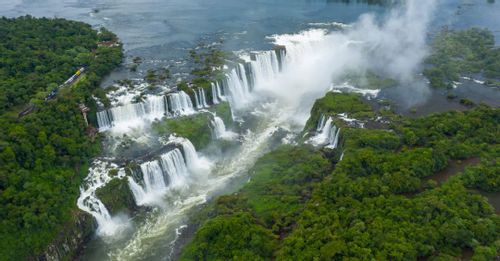 Hike through Iguaçu National Park to reach to magnificent Iguazu Falls
